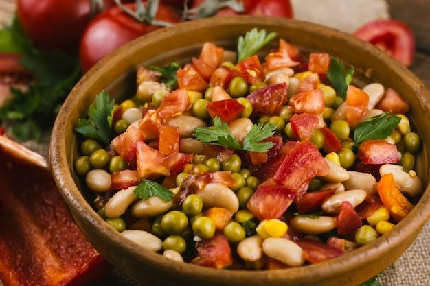 Bol de délicieux plats mexicains