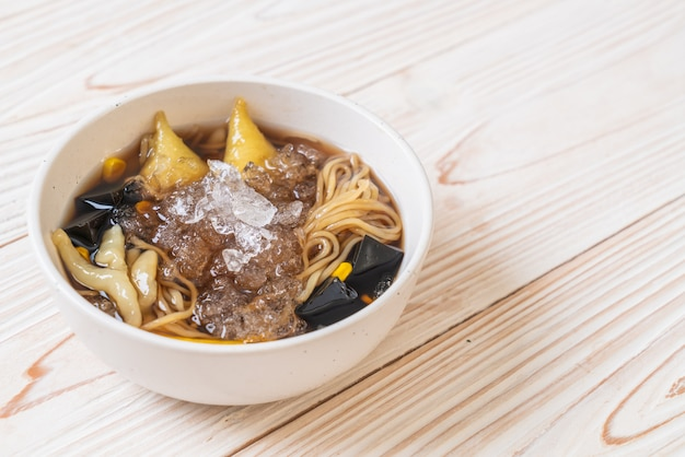 Bol à dessert chinois (bok kia) - dessert chinois de hainan