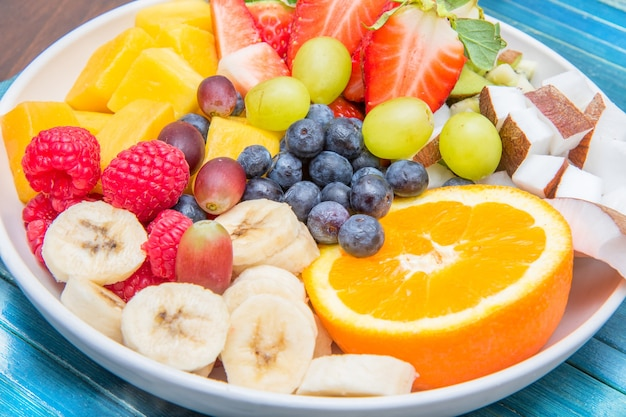 Bol de salade de fruits