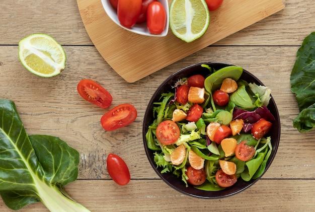Bol avec salade
