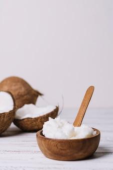 Bol vertical à l'huile de coco