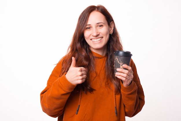 Bon café à emporter.