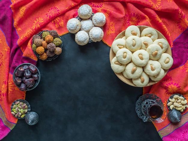 Bonbons aux dates de l'aïd et du ramadan