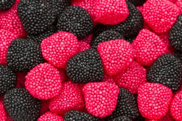 Bonbons calories tendres baies goût dispersés