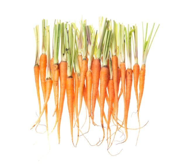 Bonbons carottes isolées