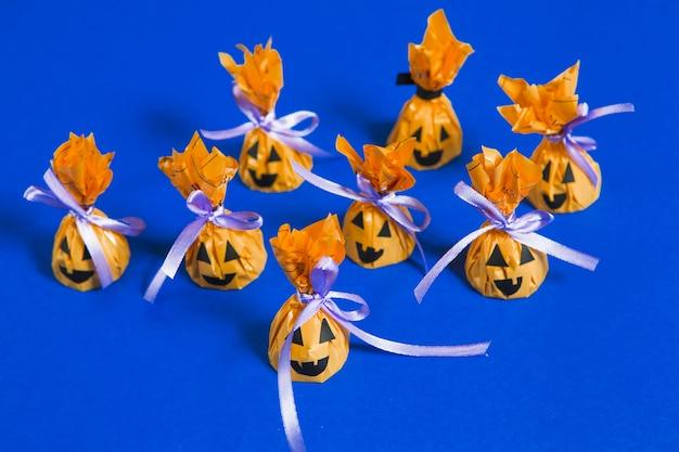 Bonbons créatifs d'halloween
