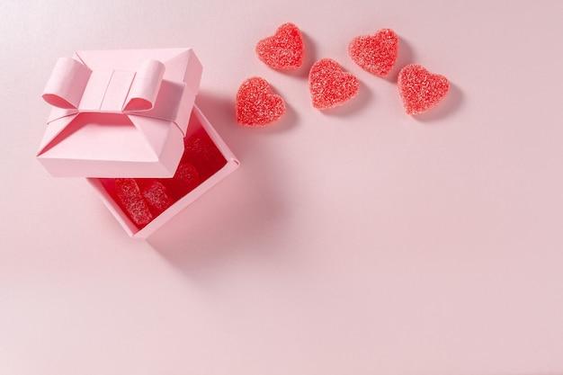 Bonbons gélifiés et box