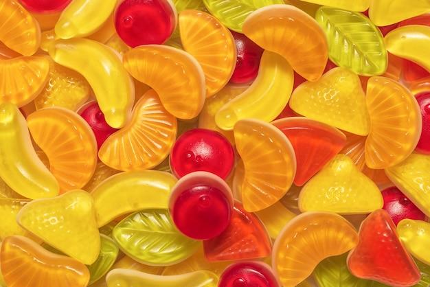 Bonbons gommeux savoureux assortis