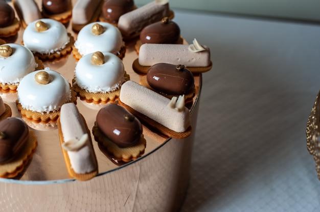 Bonbons de mariage barre chocolatée