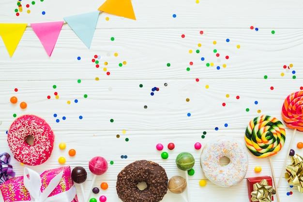 Bonbons pour l'assortiment de fêtes