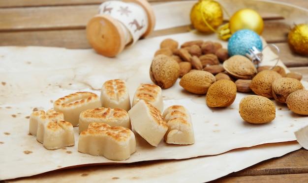 Bonbons traditionnels massepain