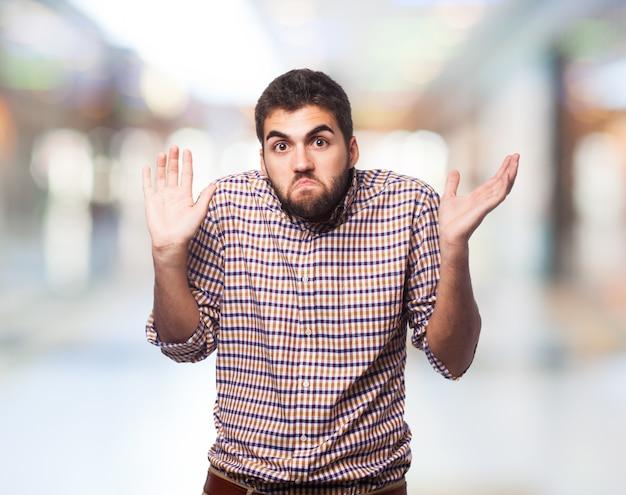 Bonheur étudiant chemise seule puce