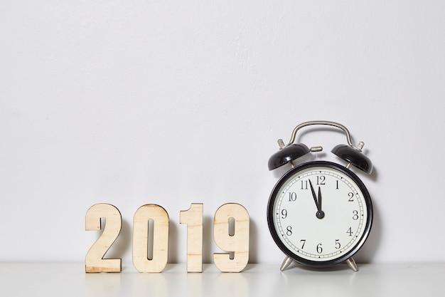 Bonne année 2019 concept