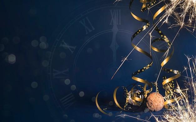 Bonne année 2020. fond de vacances de noël et du nouvel an, saison d'hiver.
