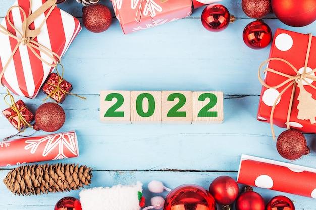 Bonne année 2022 noël 2022