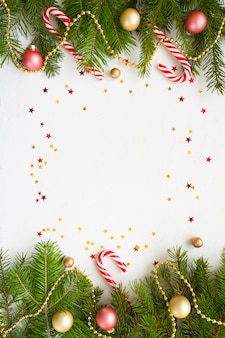 Bonne année et joyeux noël. contexte