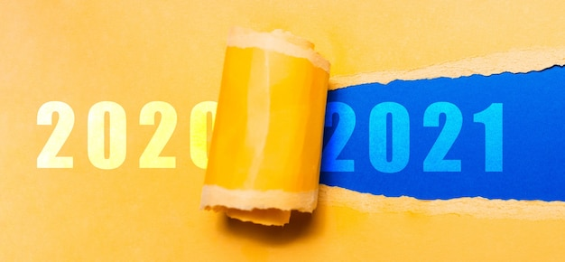 Bonne année, nouveau départ, nouvelle page de vie; concept de résolution