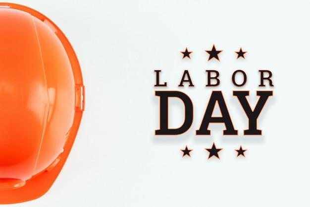 Bonne bannière de la fête du travail.