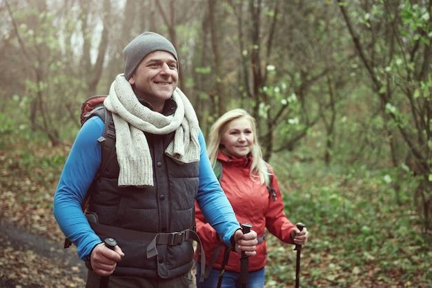 De bonne humeur en randonnée