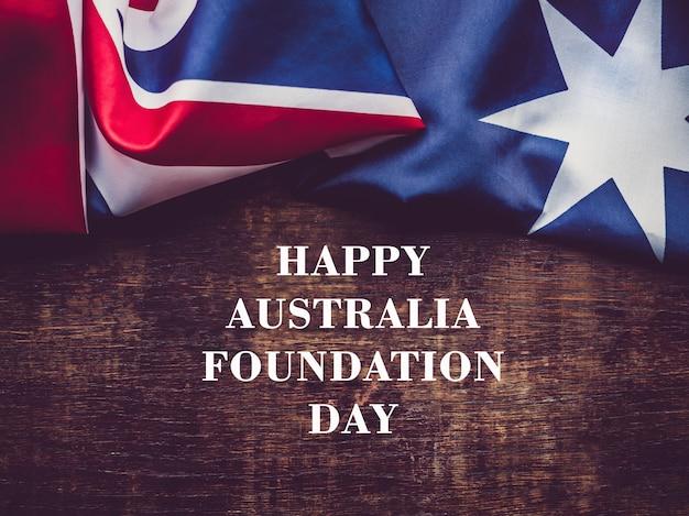 Bonne journée de fondation en australie