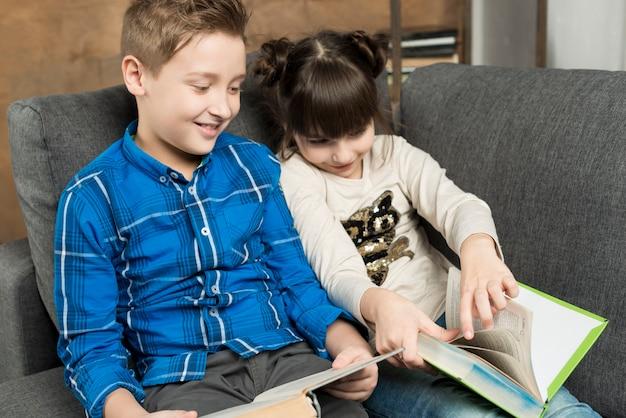 Bonne lecture d'enfants