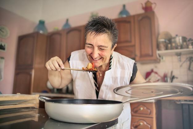 Bonne maman cuisiner