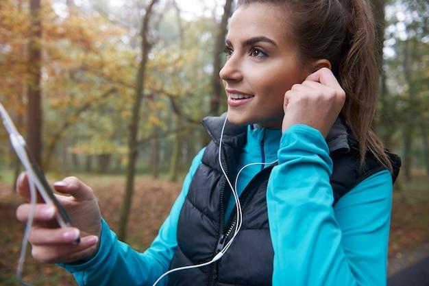 Une bonne musique pendant le jogging est très importante