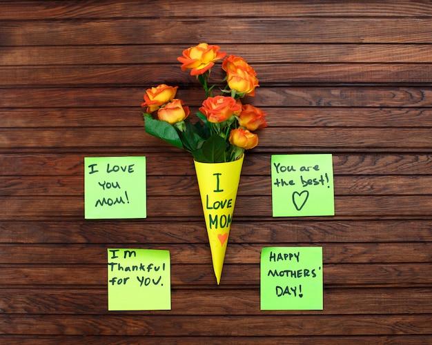 Bonne note de rappel de la fête des mères