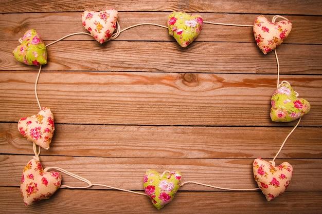 Bonne surface d'amour de vacances de la saint-valentin