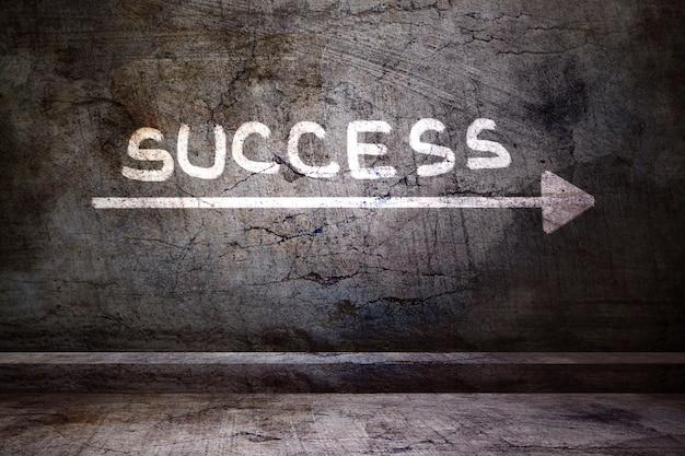 Bonne voie vers le succès