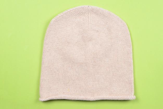Bonnet d'hiver chaud en tricot