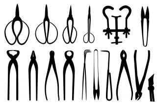 Bonsaï outils