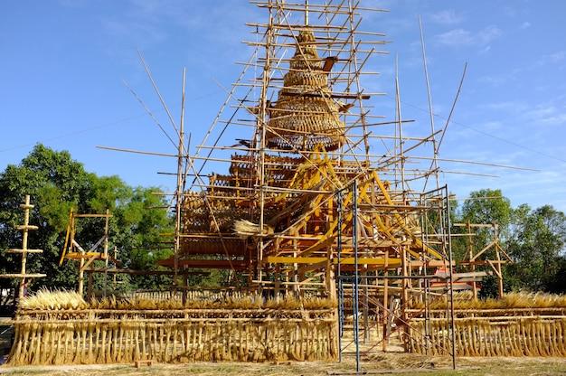 Boon kum khao, kalasin, thaïlande tradition thaïlandaise