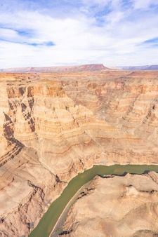 Bord ouest du grand canyon
