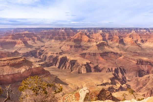 Bord sud du grand canyon