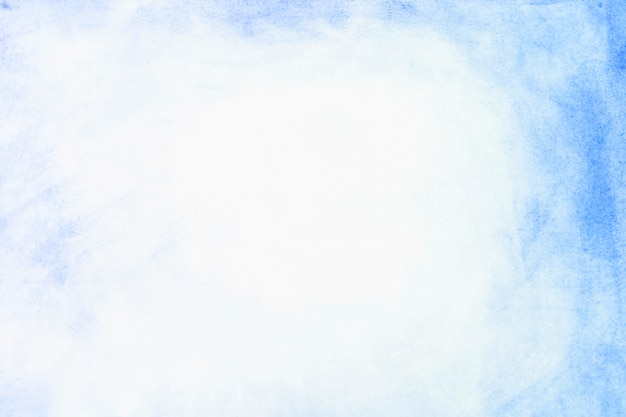 Bordure de peinture bleue