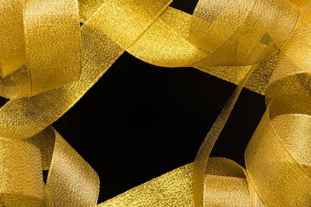 Bordure de ruban d'or