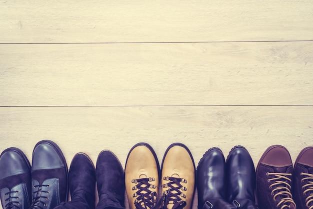 Bottes et chaussures en cuir