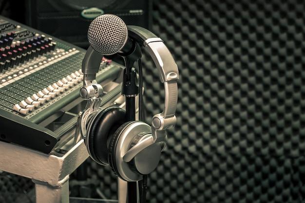 Bouchent le concept de fond de musique instruments.