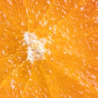 Bouchent la délicieuse orange