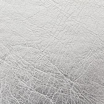 Bouchent fond de texture de cuir argenté