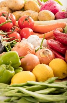 Bouchent les légumes frais