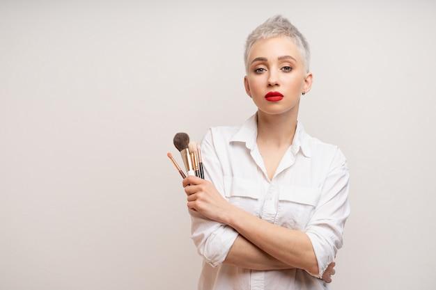 Bouchent maquilleur portrait.