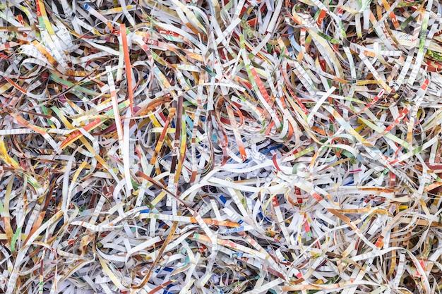 Bouchent pile de papier brouillon de coupe-papier pour le fond