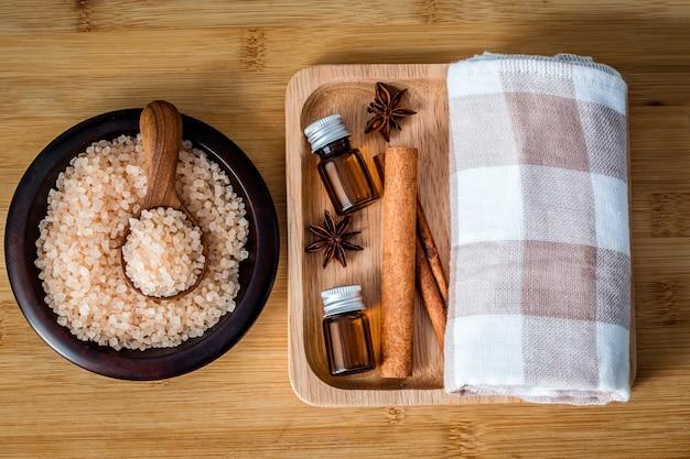 Bouchent spa sel marron himalaya bio