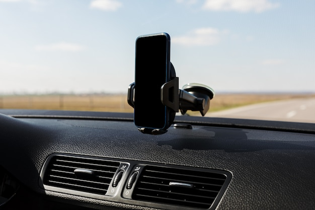 Bouchent le support de téléphone intelligent de voiture