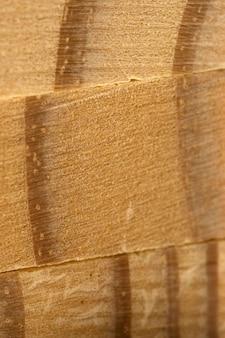 Bouchent la surface du matériau bois