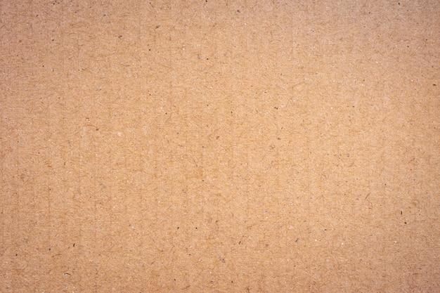 Bouchent la texture et l'arrière-plan de boîte de papier en carton recyclé brun.