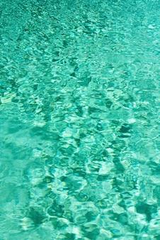 Bouchent la texture de l'eau abstraite. fond d'eau turquoise piscine. espace de copie, vue de dessus.