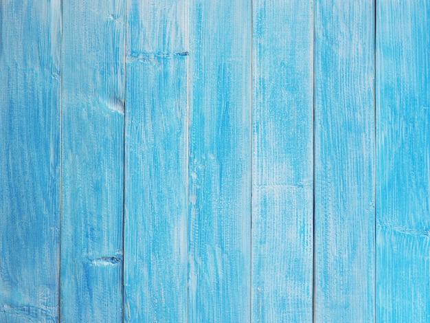 Bouchent la texture de la planche de bois bleu. fond bois pastel et vintage avec espace de copie. motif à rayures verticales.